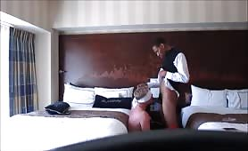 DILF fucked at Disney Resort by Str8 Valet parking guy