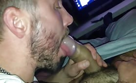 Milking his bro