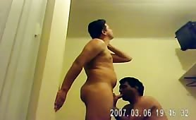 hidden cam shows Uncle fucking his young nephew...