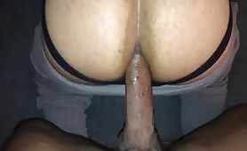 Huge big dick breeding a tight hole