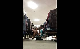 Dont need a changing room to masturbated