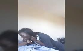 Hung young nigga fucking his stepsister