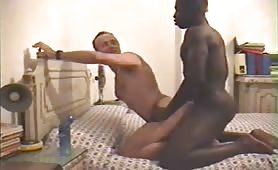 Straight African Escort fucking a French tourist