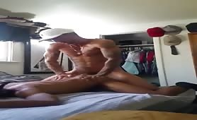 Hot papi wants to bust a nut inside my ass
