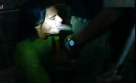 Drunk str8 Policeman Gets Sucked By Fagot