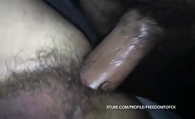 Horny bear breeding a sexy college student
