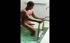 My hard dick wants to swim