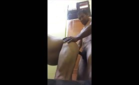 Horny married guy fucks a mexican vale