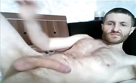 Big long monster thick dick shooting a huge load