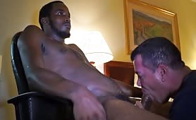 Blowing a seriuosly beautiful straight BBC