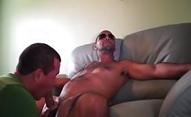 Sucking a delicious str8 dominican cock