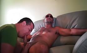 Sucking a delicious str8 dominican cock part II