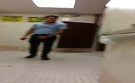 Cruising in the public bathrooms of the shopping center