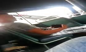 Caught a guy masturbating on a bus