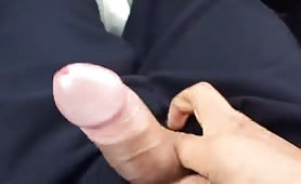 My straight friend finally touched my dick