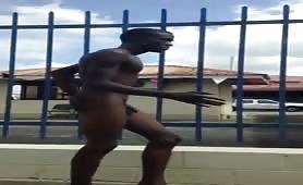 Public naked challenge