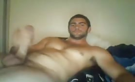 Big Italian Cock jerking off with accidental cum