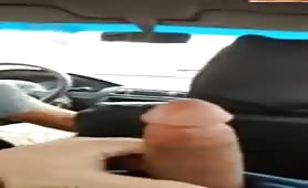 He showed me his cock in the taxi