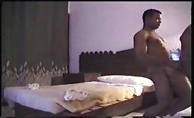 Egyptian Arab fucks French bareback