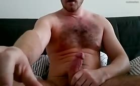 Early morning hung jerk off
