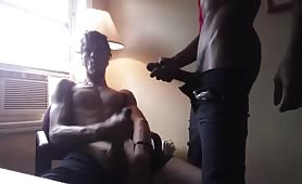 my black friend has the biggest cock of mine