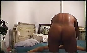 Str8 Arab Hammer fucks gay man on hidden cam