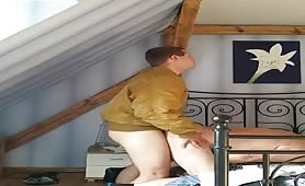 Married stud unloads in waiting daddy