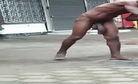 Caught World's largest penis Homeless Jamaica