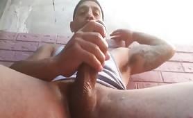 Hot big latino dick