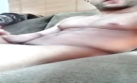 caught Horny sexy Guy cum