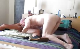 White daddy fucked by Married Blatino lover