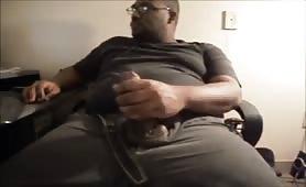 Big Man Jackin that Big Dick