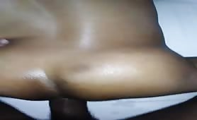 pounding a black sexy bottom